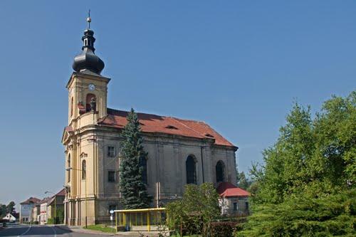 Jezvé, kostel sv. Vavřince
