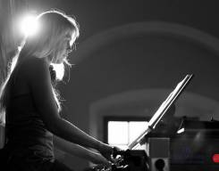 Kateřina Chroboková, Yasuko Tanaka - Lípa Musica 2012, foto Lukas Pelech Atelier