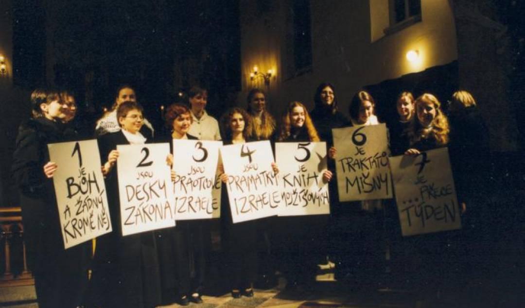 Festival duchovní hudby Česká Lípa 2002 - Sbor Adash