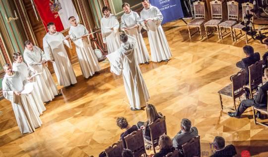 Schola Gregoriana Pragensis - 26.10.2012, foto: Lukas Pelech