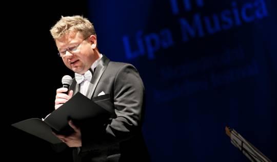 Ředitel festivalu Martin Prokeš , foto: Vít Černý (Lukas Pelech Atelier)