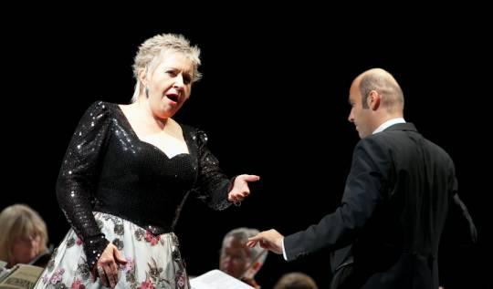 Eva Urbanová, R. Štúr - Lípa Musica 2011, foto: Vít Černý (Lukas Pelech Atelier)
