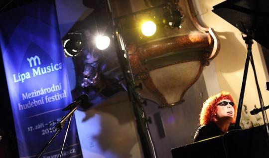 Kateryna Kolcová - Lípa Musica 2010, foto: Lukáš Pelech